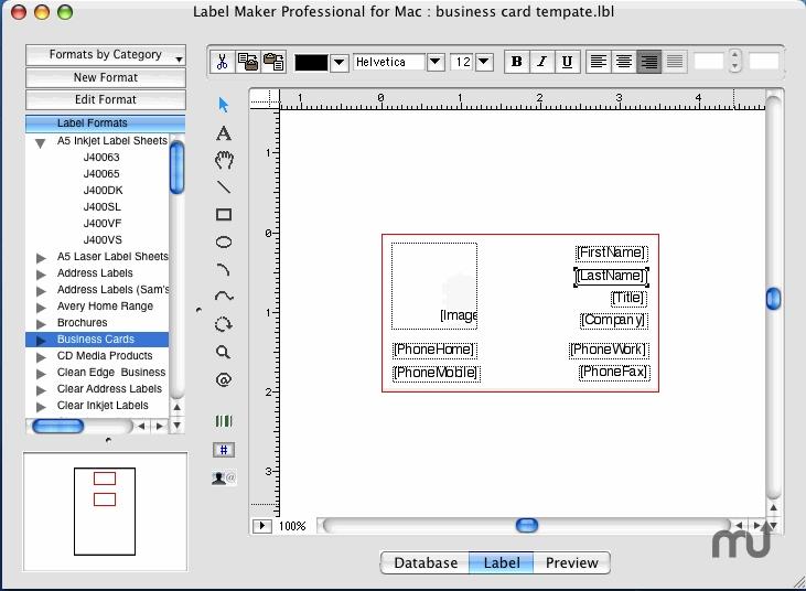 Label Maker Professional 146 free download for Mac MacUpdate - address label format