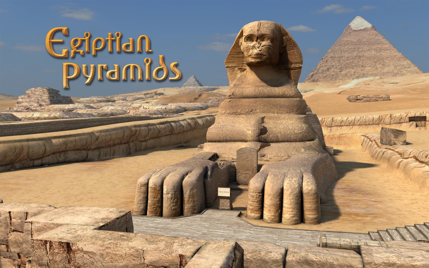 3d Name Live Wallpaper App Egyptian Pyramids 3d 1 0 2 Purchase For Mac Macupdate