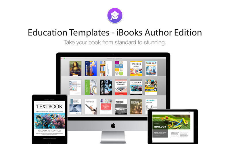 Education Templates iBooks Author Edition 10 purchase for Mac
