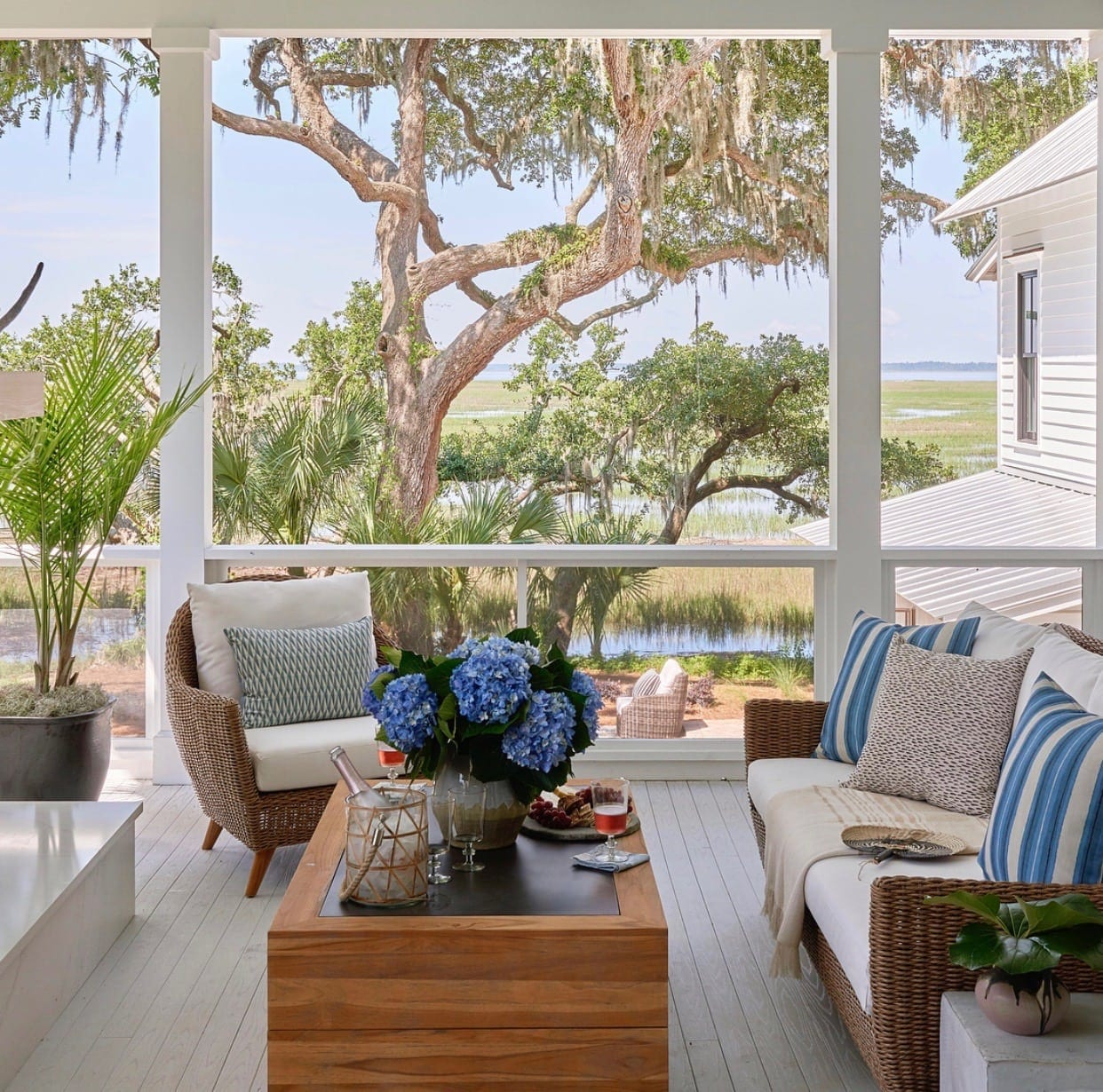 The Coastal Living Idea House Screen Porch Elevated Screened Porch Screen Tight