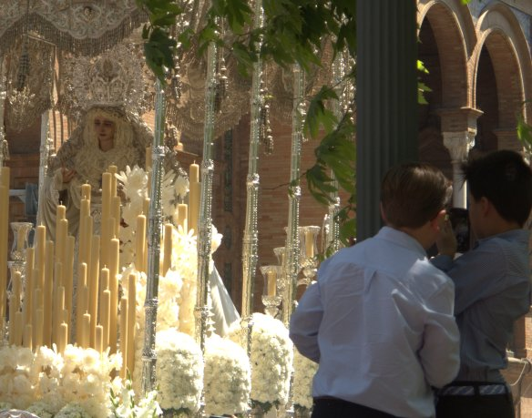 Semana Santa, Sevilla, procession, Maria Luisa Park