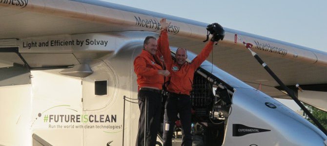 Solar Impulse: the first-ever Atlantic crossing without fuel