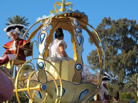 Cinderella, Reyes Magos 2013, cabalgata 2013, Seville, Sevilla, glitter