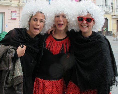 Duquesa de Alba, Carnaval, Cadiz, Carnaval de Cadiz, family