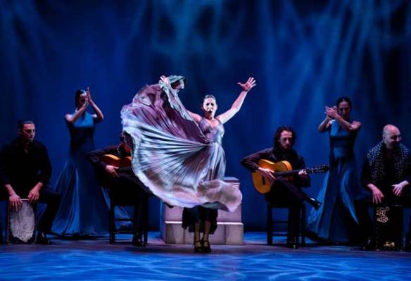 Sara Baras in her flamenco show La Pepa - one of the many highlights in Seville this Christmas.
