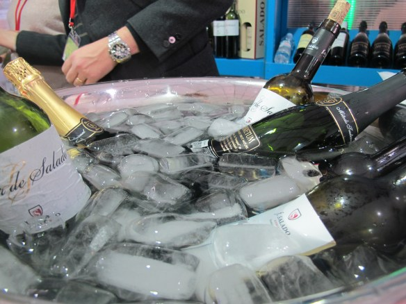 Bodegas Salado's cava was popular with the crowd at the Seville Province fair.
