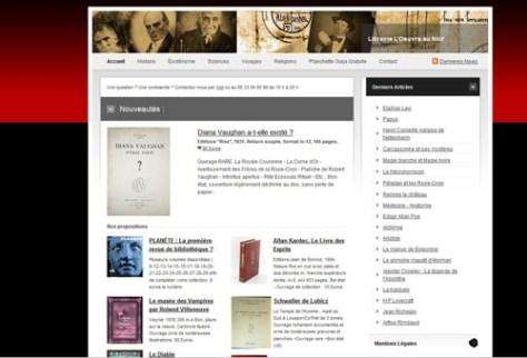 Librairie L'Oeuvre au Noir