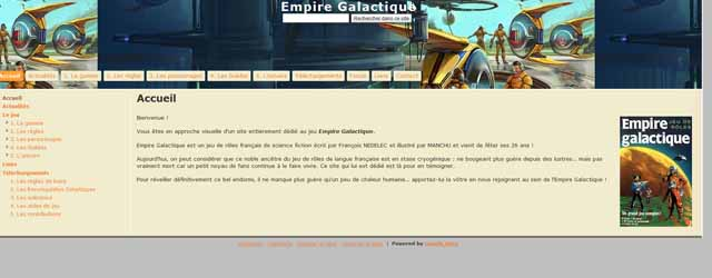 Le retour de l'Empire Galactique contre Attaque, il revient !!!!
