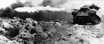 Ronson flame tank Iwo Jima [Appel de Cthulhu] La Mort Brûlante   Les lance flammes