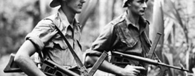 Owen Submachine Gun Australie