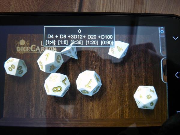 dice carbon 1 DiceCarbon, une application mobile pour lancer les dés