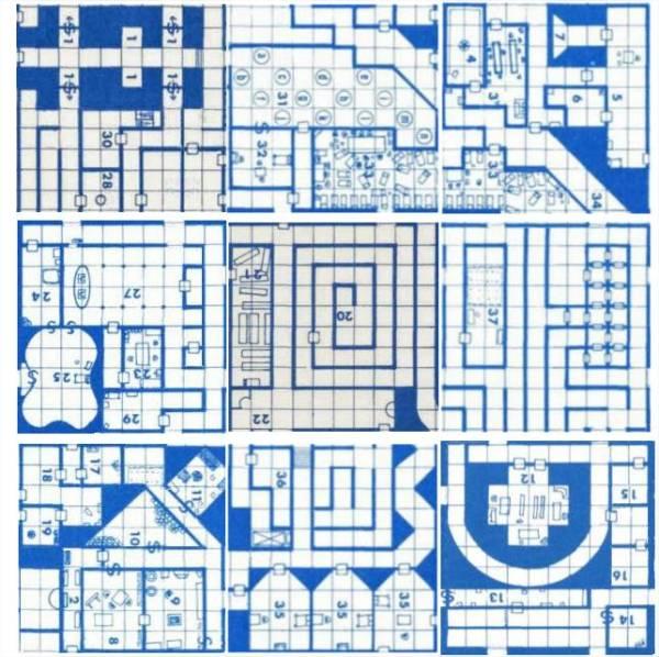 Random Wizard B1 Dungeon Map Randomizer - Mozilla Firefox