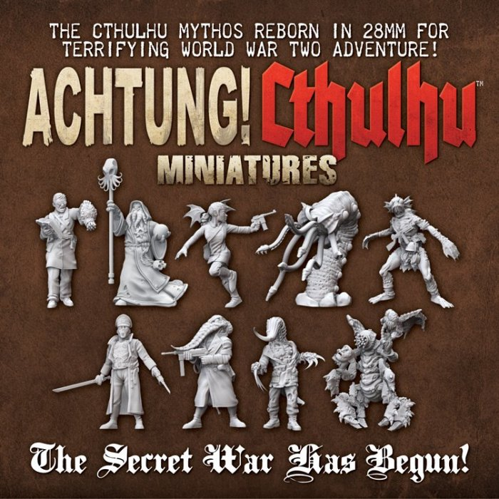 achtung cthulhu Des figurines pour Achtung! Cthulhu