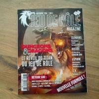 Jeu de Rôle Magazine, la nouvelle formule dans les kiosques !