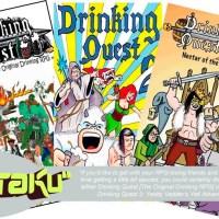 Drinking Quest, le jeu de rôle à boire !