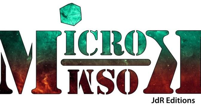 Microkosm : concours d'édition proposé par JdR Editions