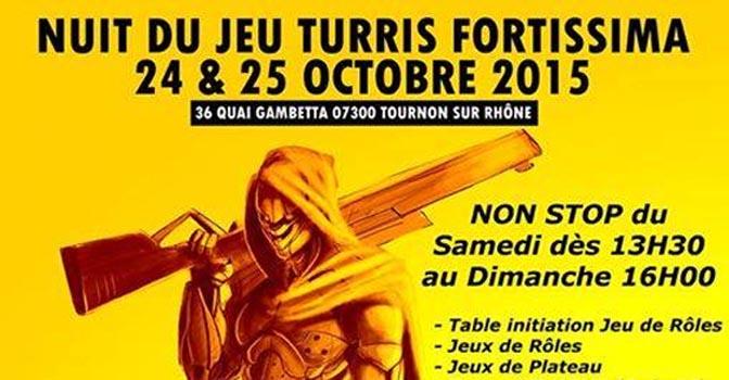 Nuit du jeu Turris Fortissima à Tournon sur Rhône