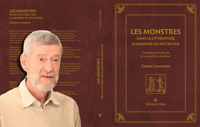 """Interview de Claude Lecouteux à l'occasion de la parution de """"Les monstres dans la littérature allemande du Moyen Age"""""""