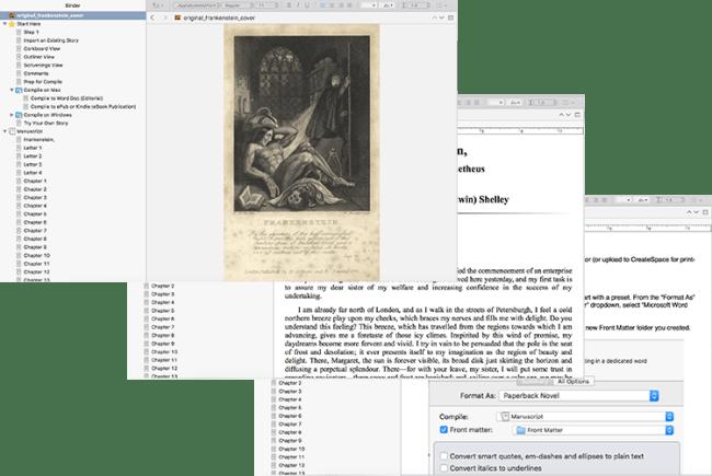 Scrivener Superpowers Workbook Screen Shots