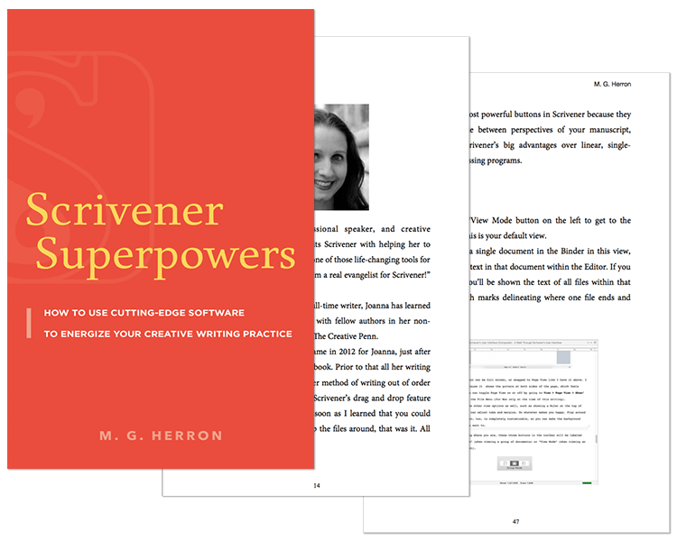 Scrivener Superpowers Page Shots