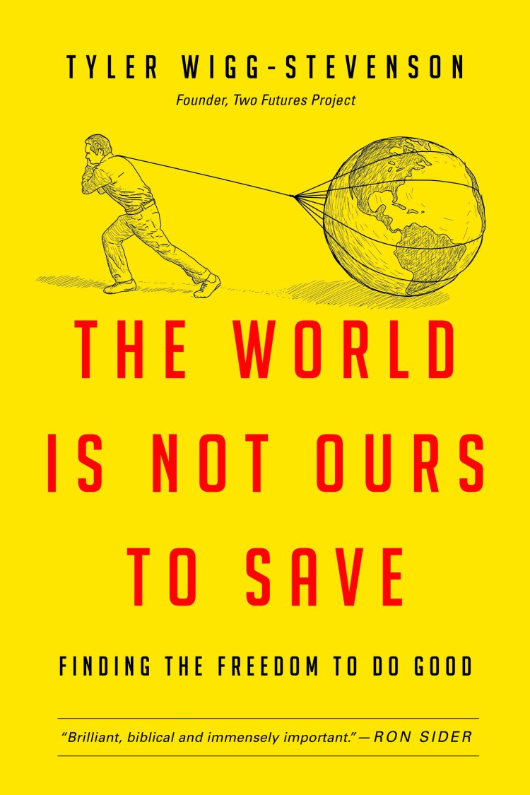The World is Not Ours to Save book cover