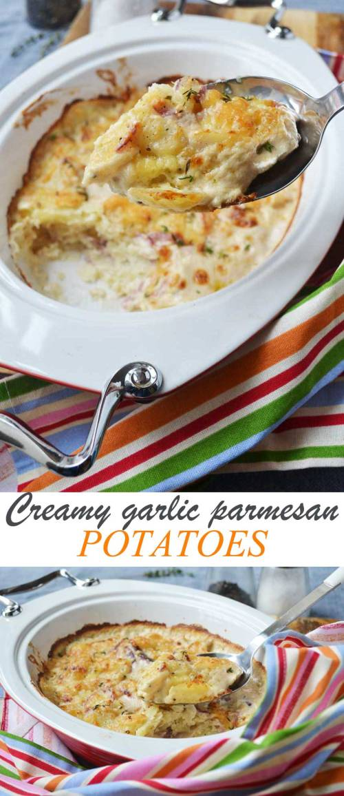 Medium Of Garlic Parmesan Potatoes