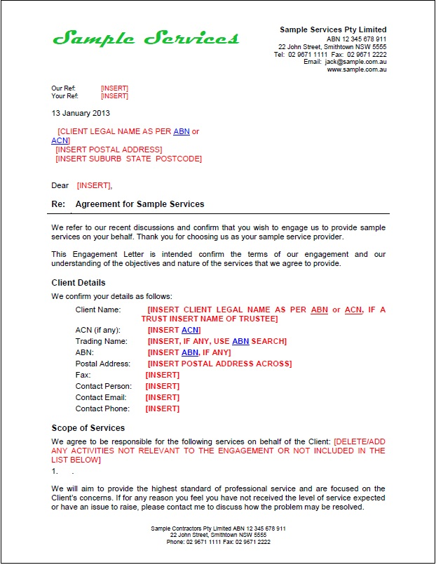 Contract Proposal Letter scrumps