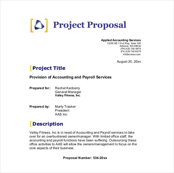 Formal Business Proposal Template scrumps