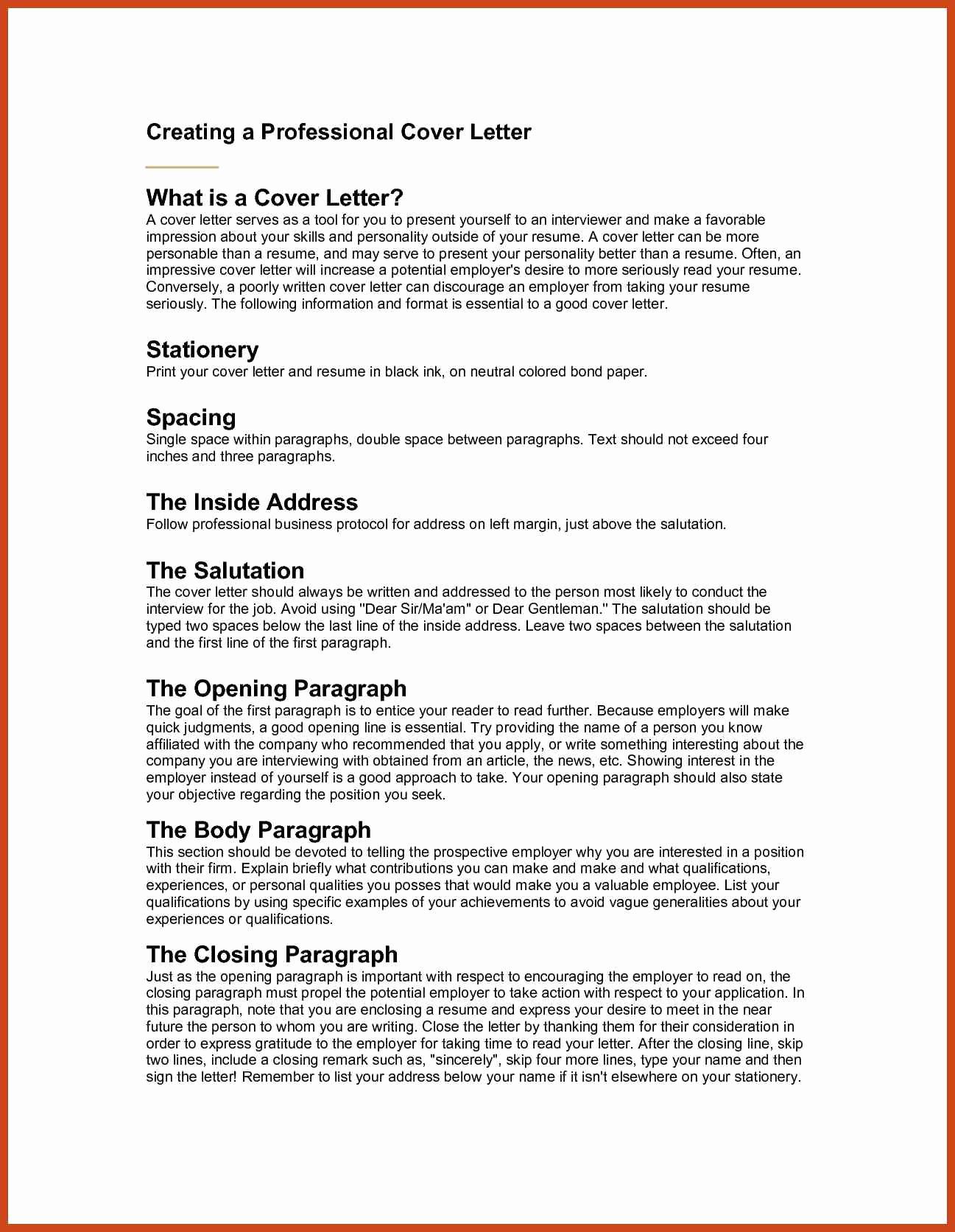 unique cover letters examples