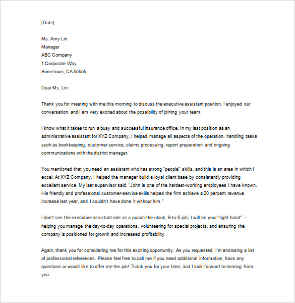 Letter Thank You For Your Business - How to Write a Perfect Thank