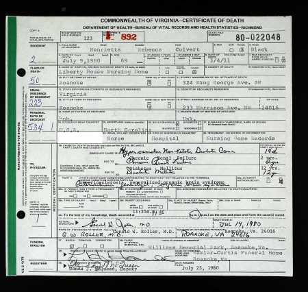 Louisiana Vital Records Birth Certificate