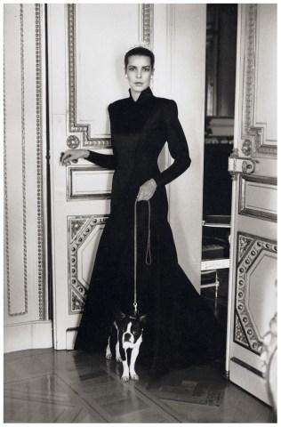 caroline monacco black white fashion photography