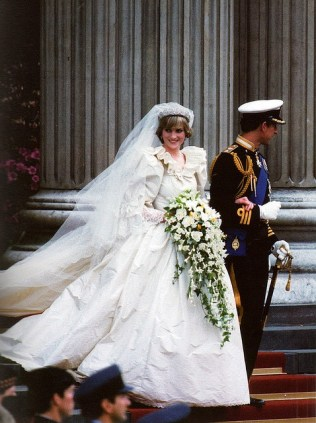 Princess Diana and Prince Charles royal weddings