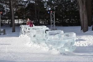 Tunnel en glace