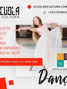 Dança em parceria com o CDN – Centro de Dança Niterói