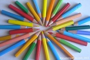 riciclare le matite colorate