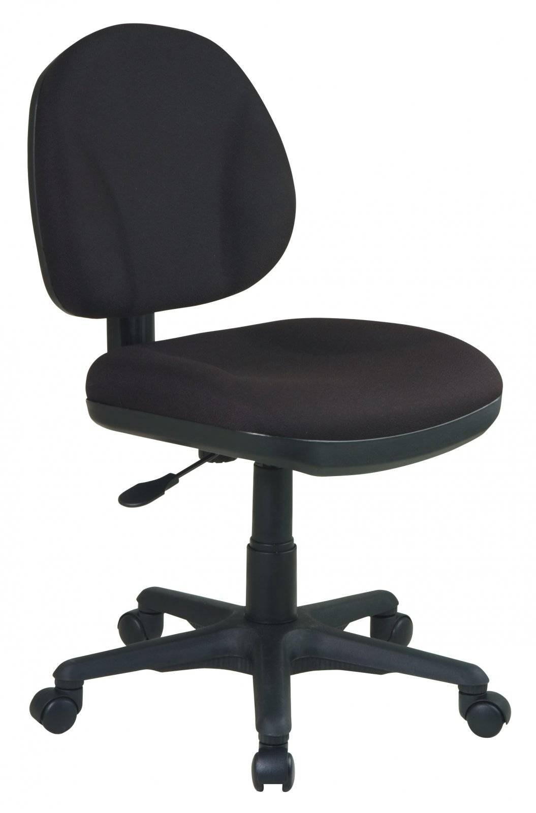 Task Chair Without Wheels Sculptured Task Chair Without Arms Free Shipping
