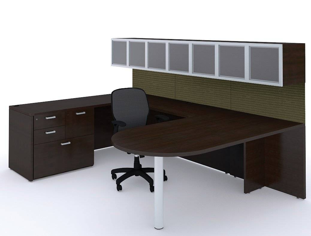 Shipping Furniture Across Canada Cherryman Amber Collection Bullet U Shape Desk