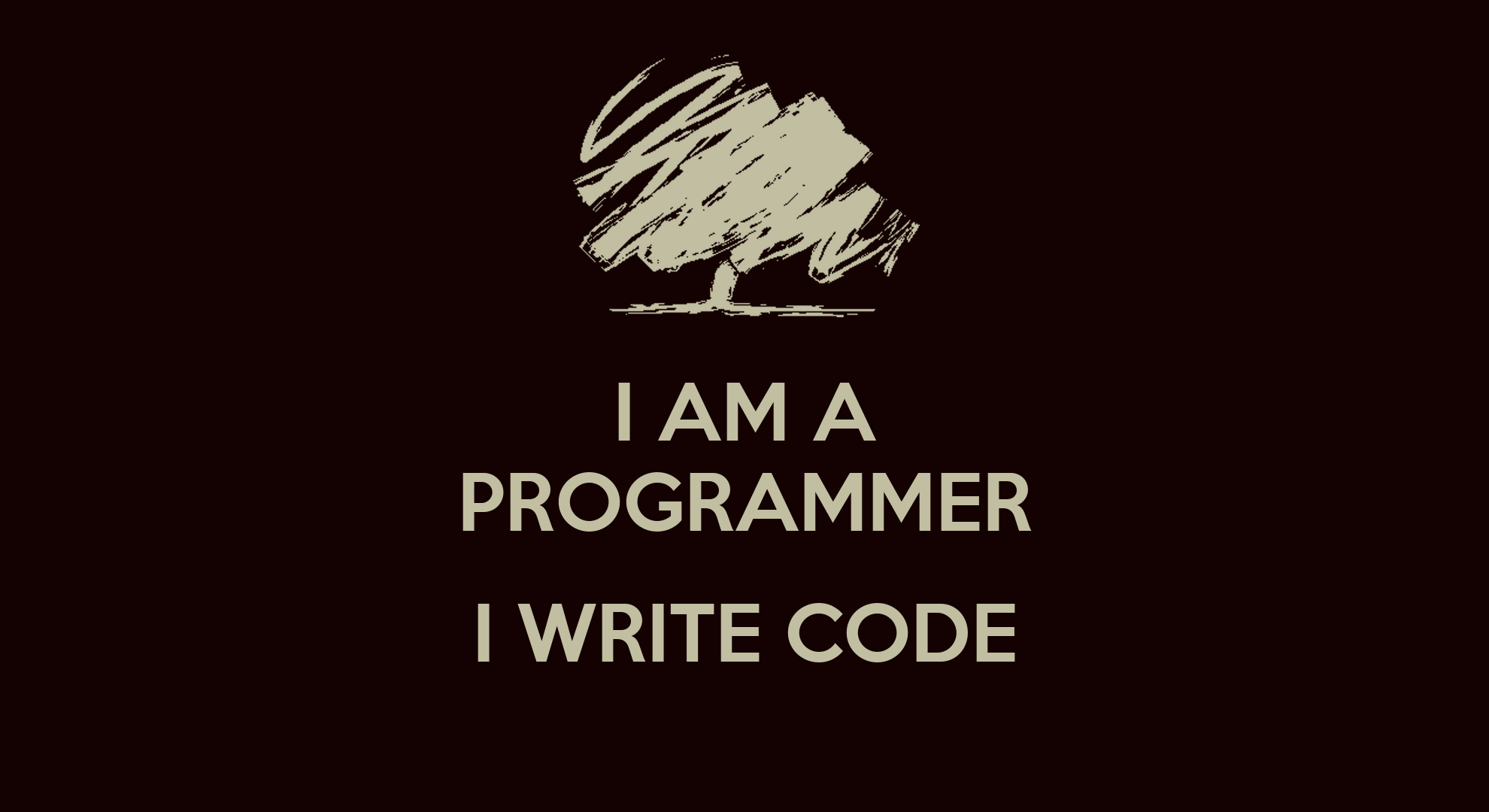 Download Wallpaper Positive Quotes I Am A Programmer I Write Code Poster K Keep Calm O Matic