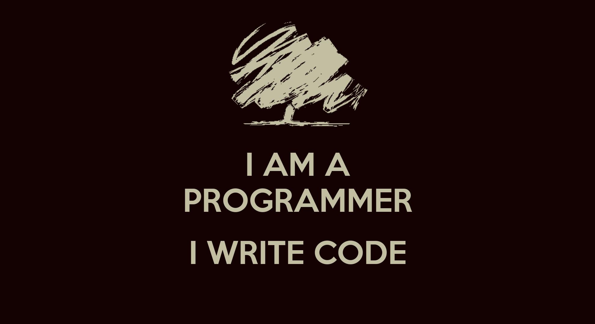 Cute Coffee Mug Wallpaper I Am A Programmer I Write Code Poster K Keep Calm O Matic