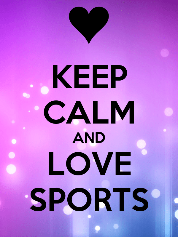 Wallpaper Of Soccer Quotes Keep Calm And Love Sports Poster M Keep Calm O Matic
