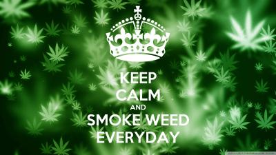 KEEP CALM AND SMOKE WEED EVERYDAY Poster | kovacevic272 | Keep Calm-o-Matic