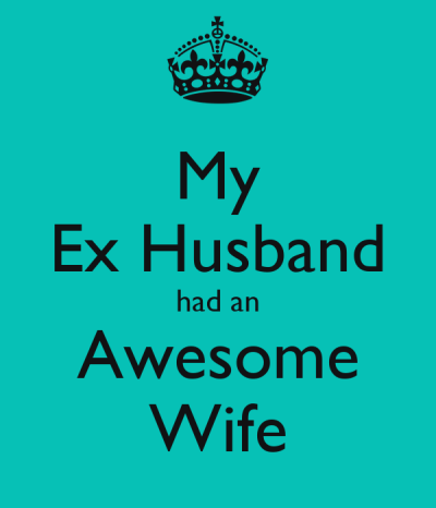 My Ex Husband had an Awesome Wife Poster | fiona | Keep Calm-o-Matic