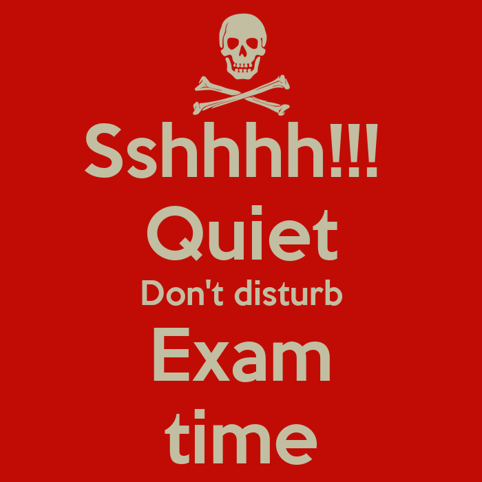 Stop Smoking Quotes Wallpaper Sshhhh Quiet Don T Disturb Exam Time Poster
