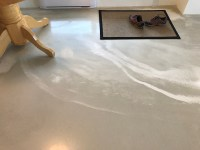 Natural marble looking polished concrete floor | Victoria ...
