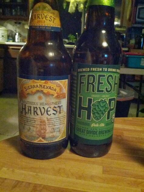 Fresh Hop Pale Ales