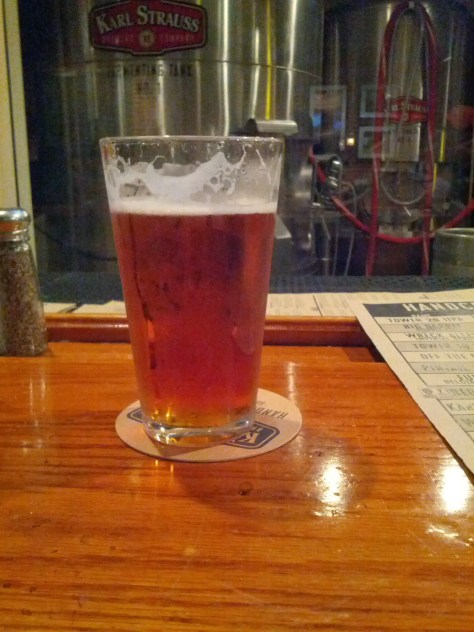 Pint of Pintail Pale Ale.