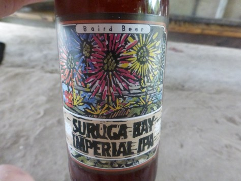 Surugu Bay Imperial IPA.