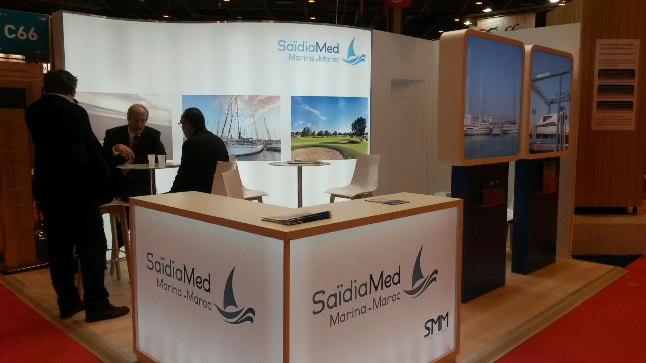 Salon Nautique International De Paris Stand Marina Saïdia Au Salon Nautique International De Paris Sds