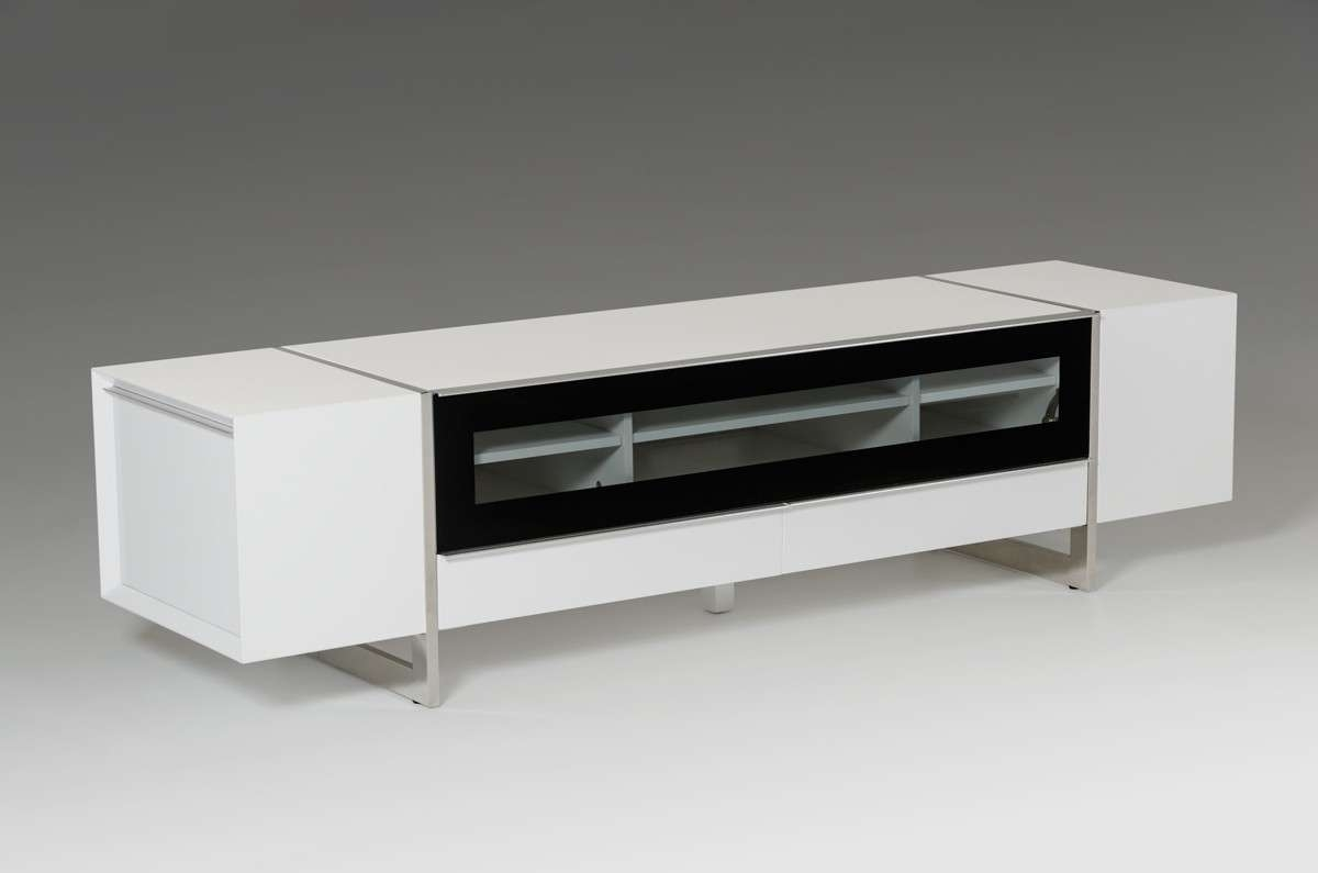 White Tv Stand Best 15 43 Of Modern White Lacquer Tv Stands